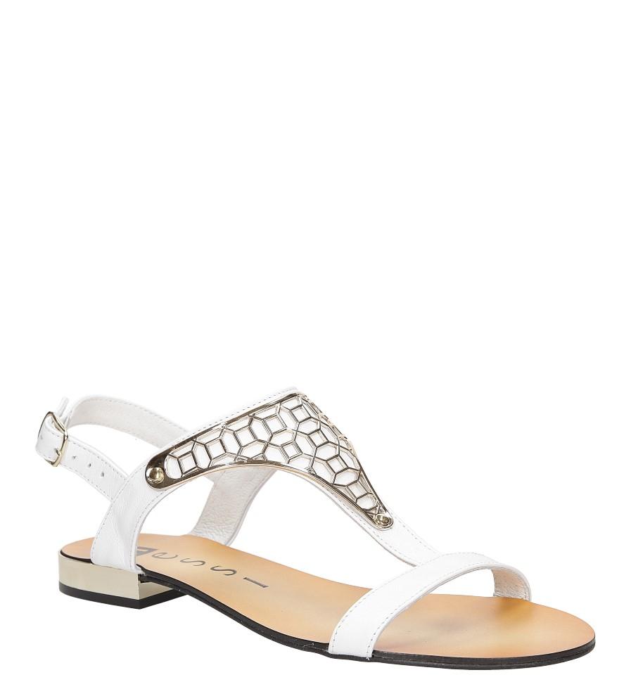 Sandały skórzane Nessi 17185