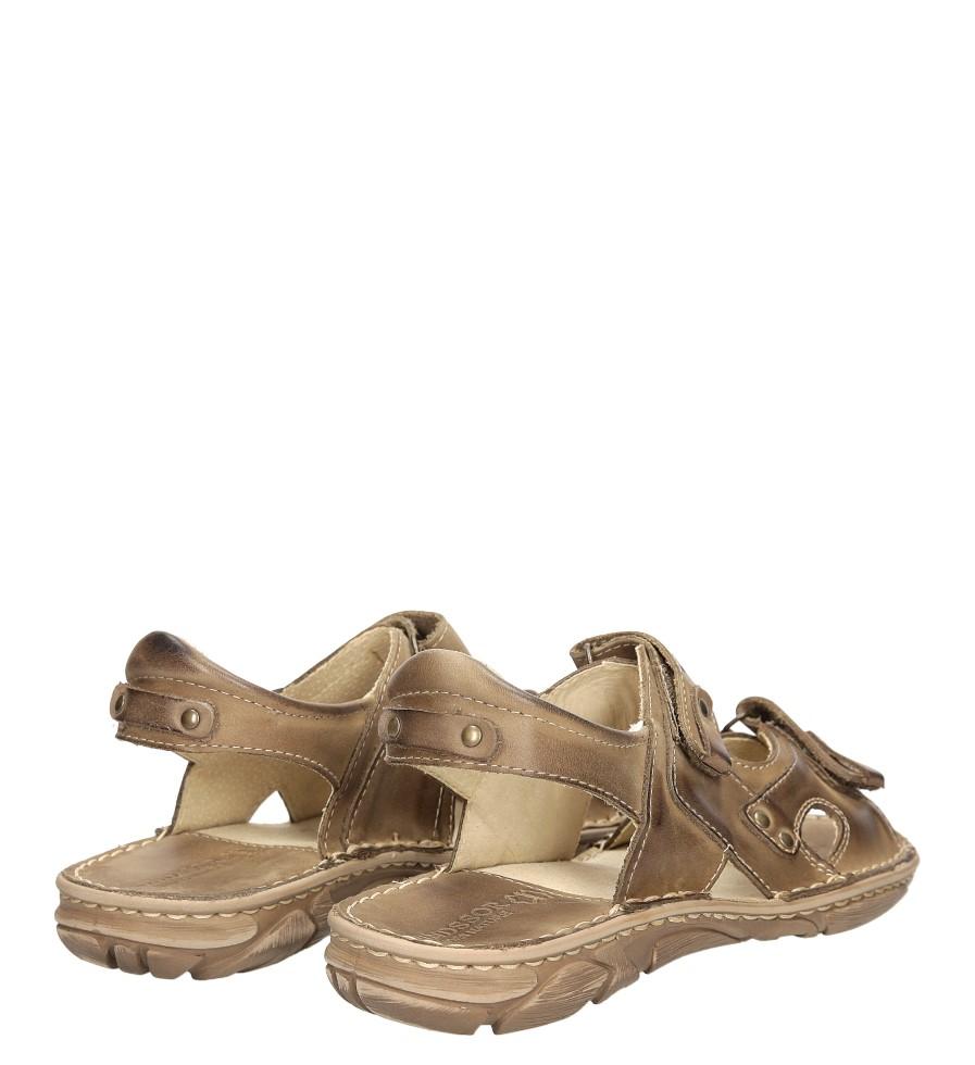 Sandały skórzane Windssor 028 wysokosc_obcasa 3 cm