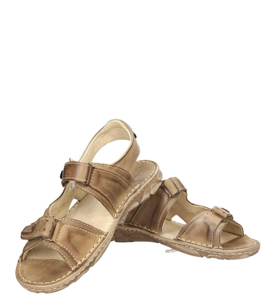 Sandały skórzane Windssor 028 wysokosc_platformy 1 cm