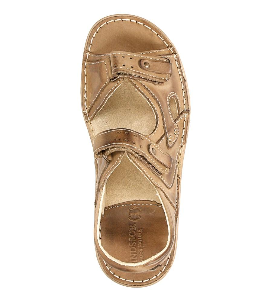 Sandały skórzane Windssor 028 wys_calkowita_buta 15 cm