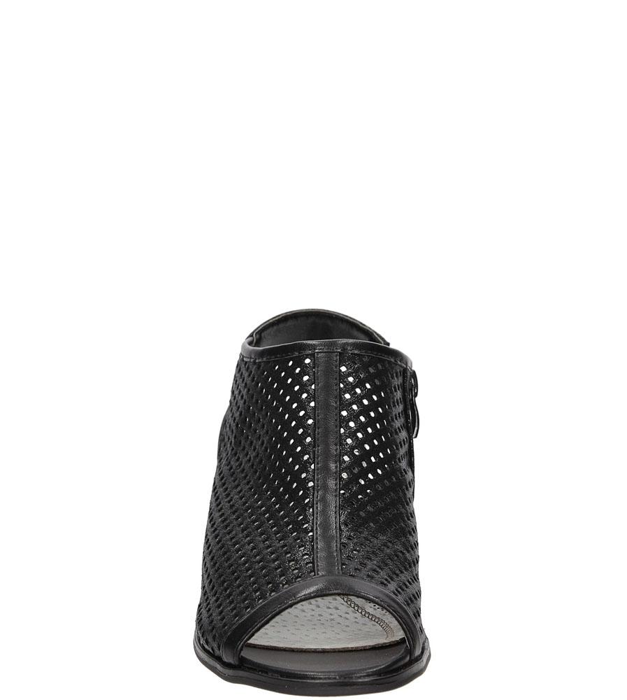 Sandały ażurowe Jezzi SA69-7 kolor czarny