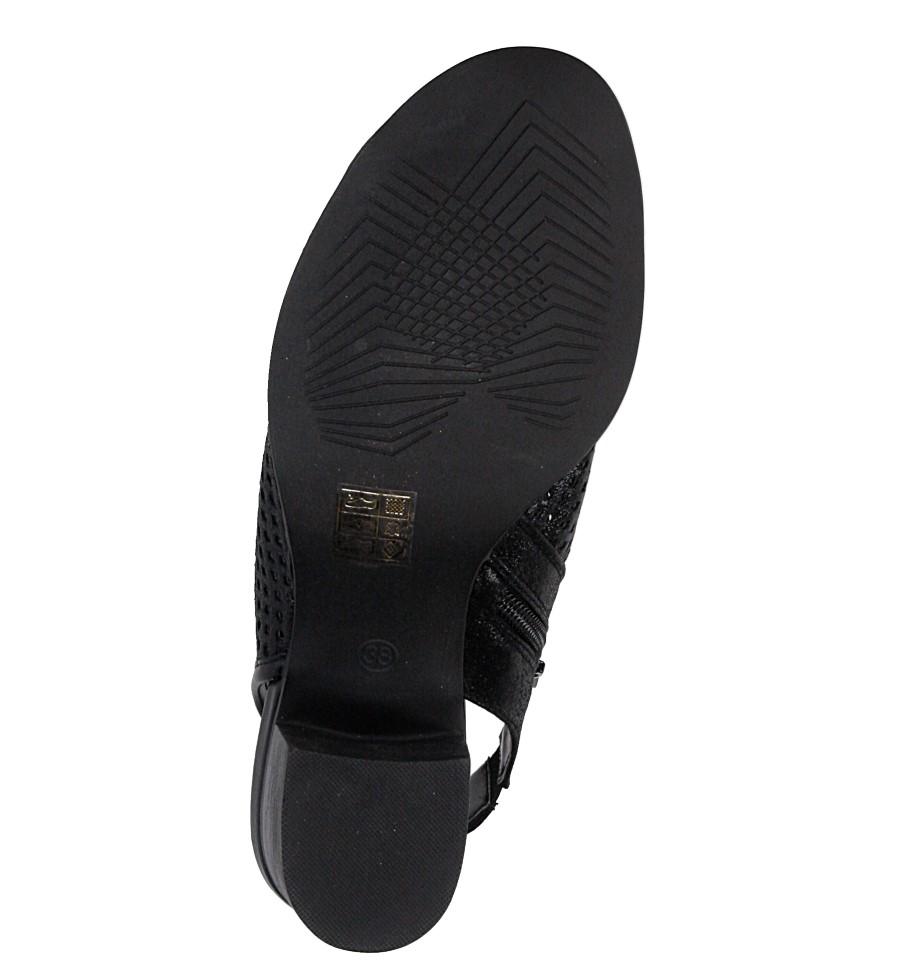 Sandały ażurowe Jezzi SA69-7 wys_calkowita_buta 15 cm