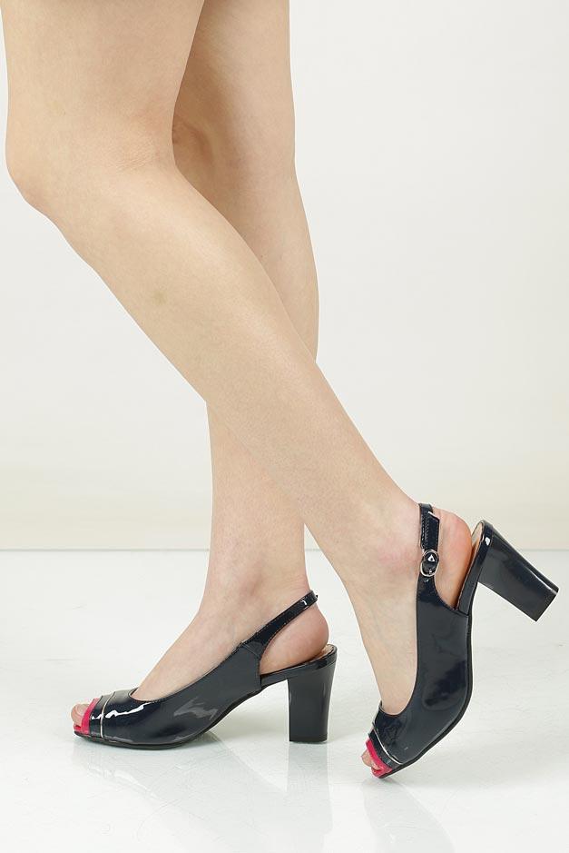 Sandały na słupku Jezzi SA81-1