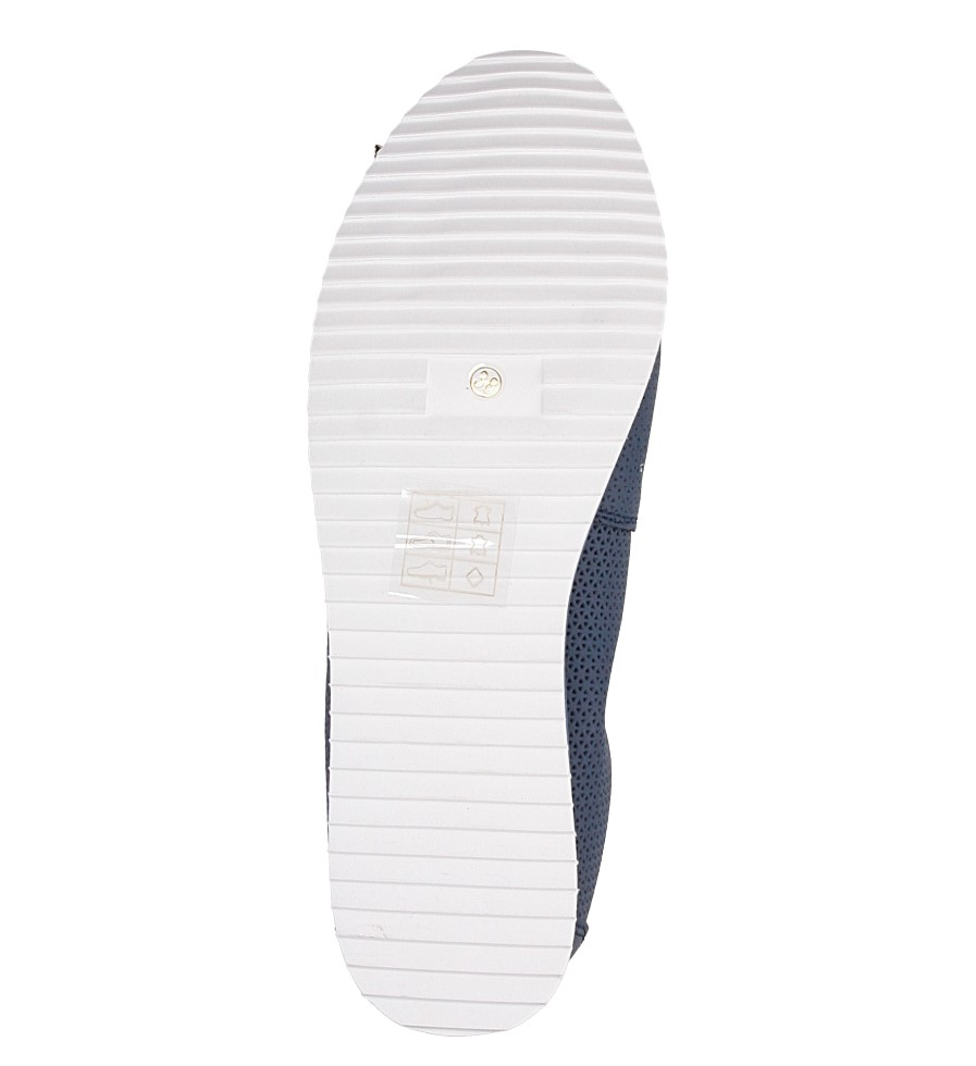 Baleriny ażurowe Jezzi 95BL76010 wysokosc_platformy 1 cm