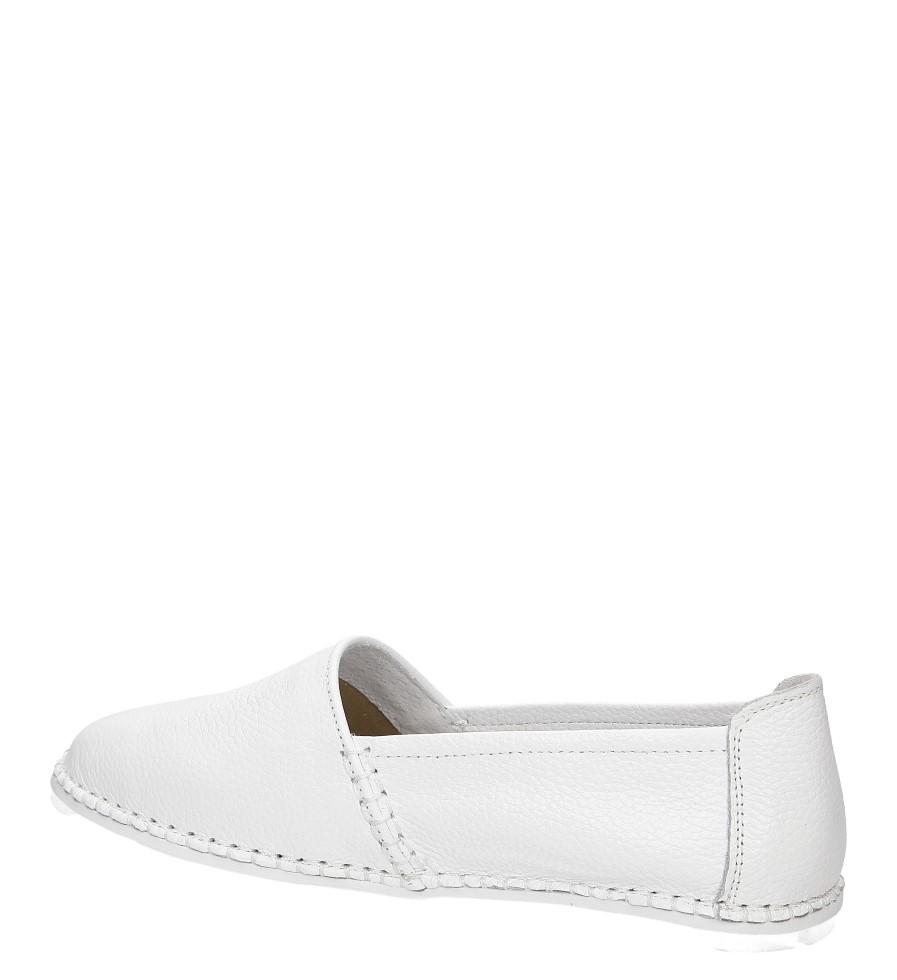 Slip on ażurowy Jezzi 95BL74007 kolor biały