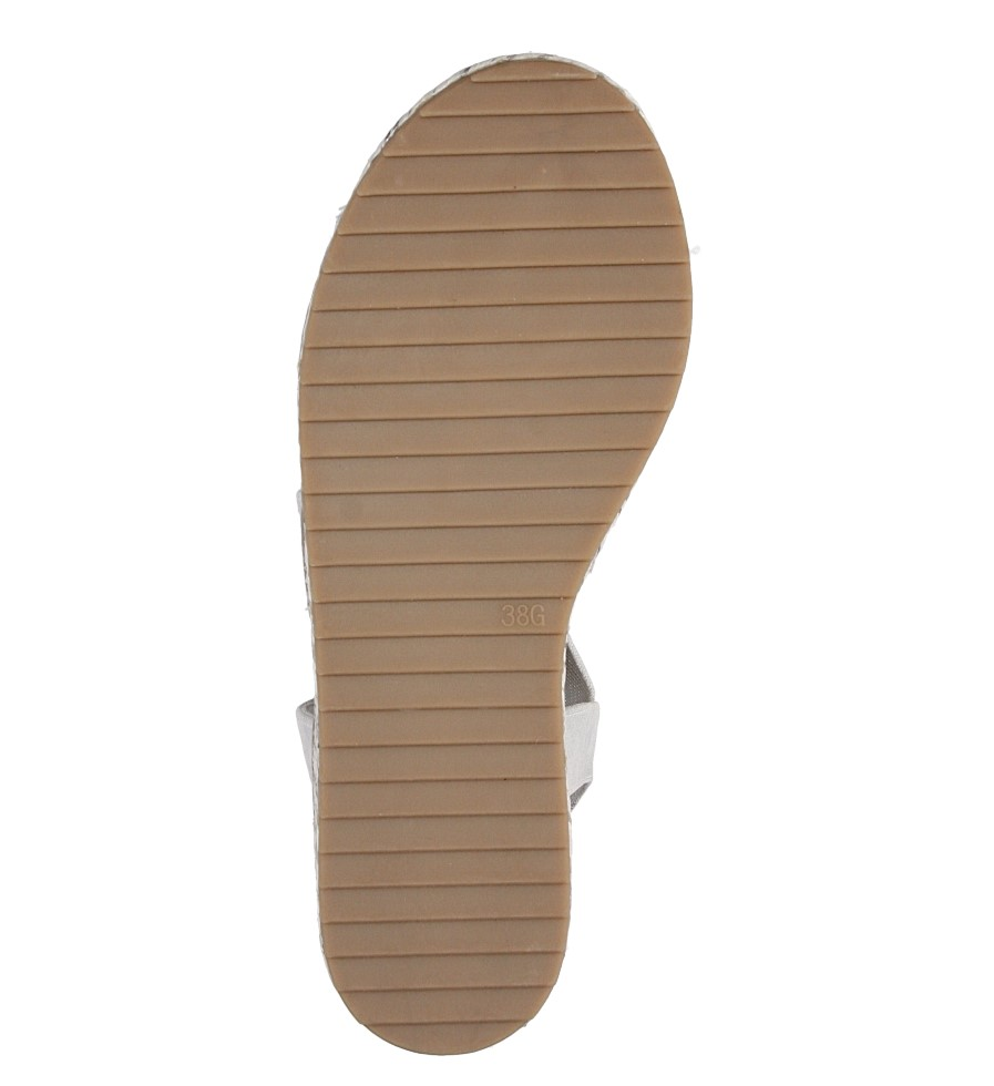 Sandały na koturnie Jana 8-28603-28 wys_calkowita_buta 11 cm
