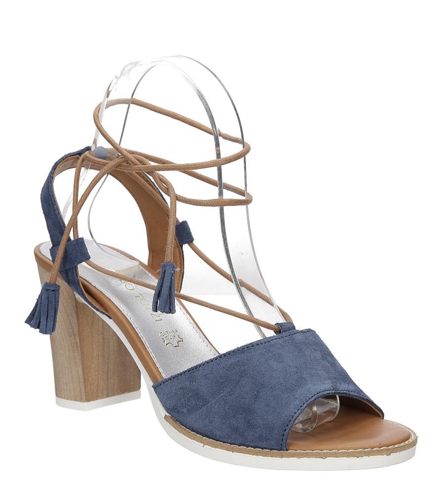 Sandały z zamszu wiązane Marco Tozzi 2-28365-28 producent Marco Tozzi