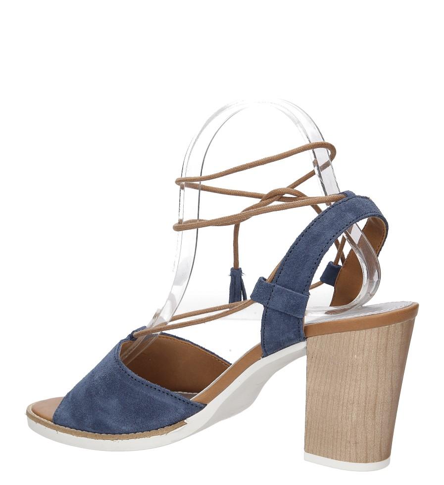 Sandały z zamszu wiązane Marco Tozzi 2-28365-28 wysokosc_obcasa 9 cm