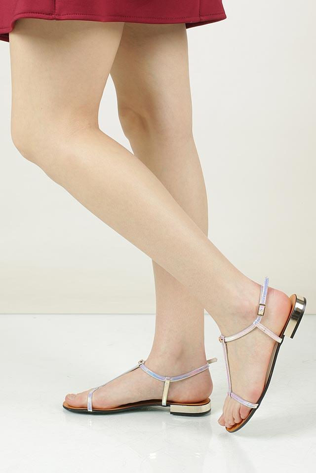 Sandały skórzane Nessi 49004