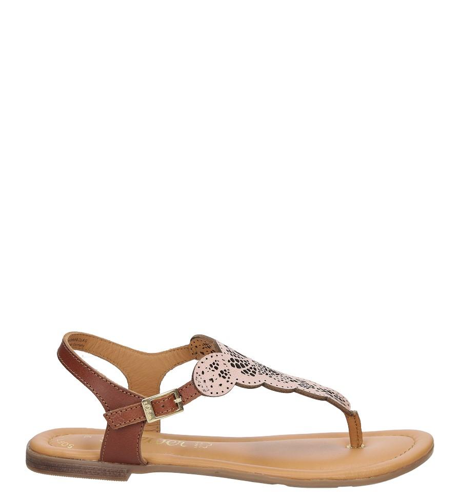 Sandały skórzane ażurowe S.Oliver 5-28102-28 sezon Lato