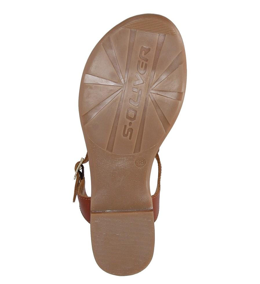 Sandały skórzane ażurowe S.Oliver 5-28102-28 wysokosc_platformy 0.5 cm