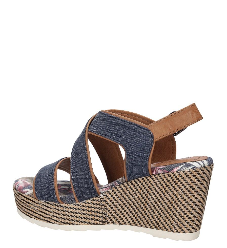 Sandały na koturnie Marco Tozzi 2-28389-38 wysokosc_obcasa 8.5 cm