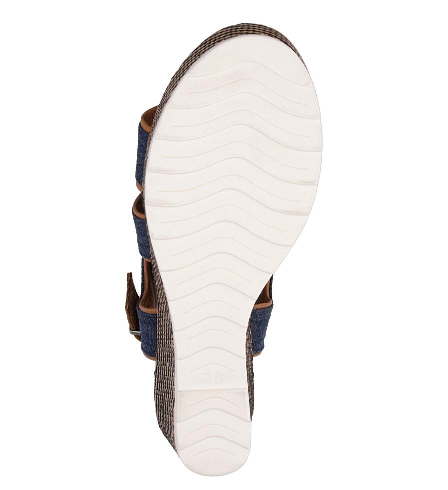 Sandały na koturnie Marco Tozzi 2-28389-38 wys_calkowita_buta 18 cm