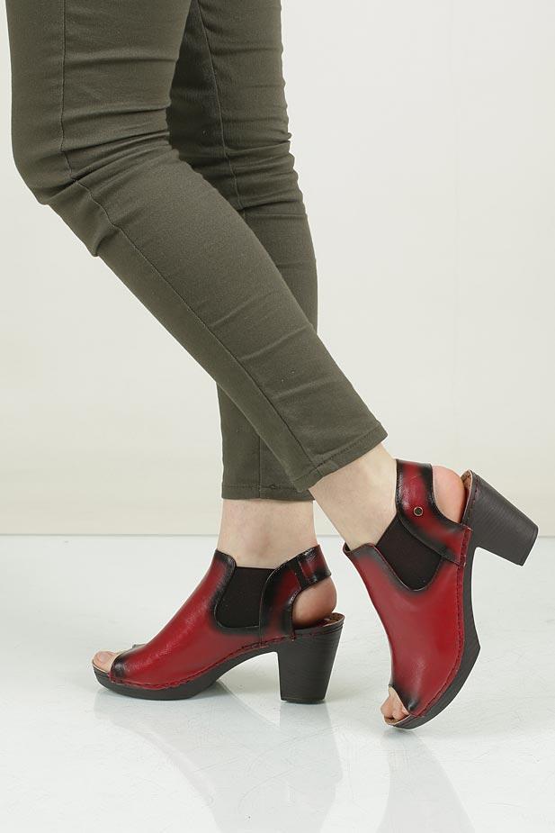 Sandały na słupku Jezzi SA19-21