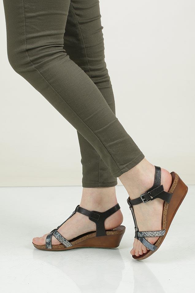 Sandały na koturnie Jezzi 51SD76215