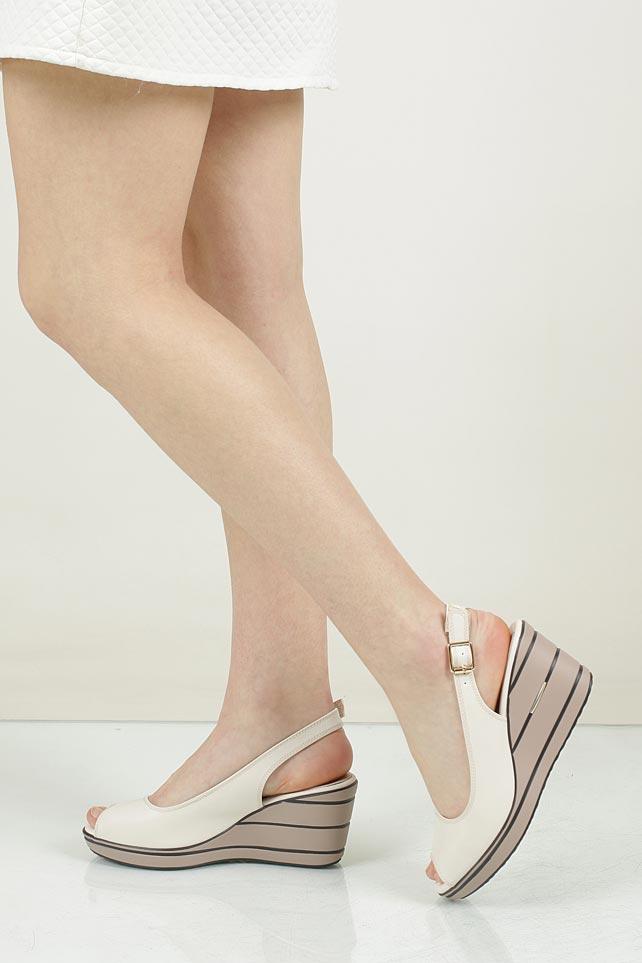 Sandały na koturnie Sergio Leone 98281