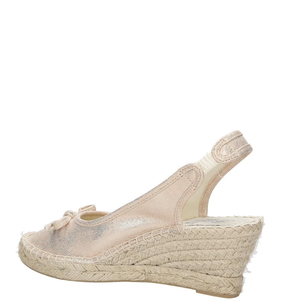 Sandały z kokardą Big Star W2745 wysokosc_obcasa 7 cm