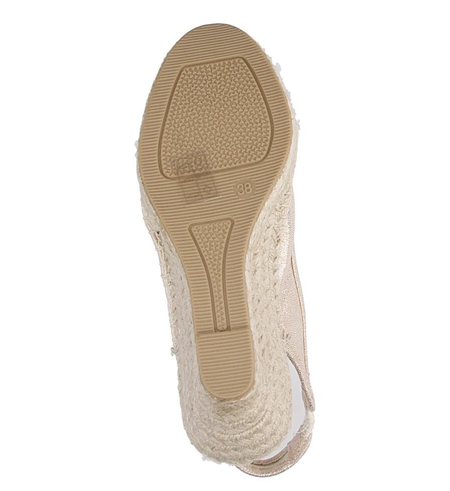 Sandały z kokardą Big Star W2745 wys_calkowita_buta 15 cm