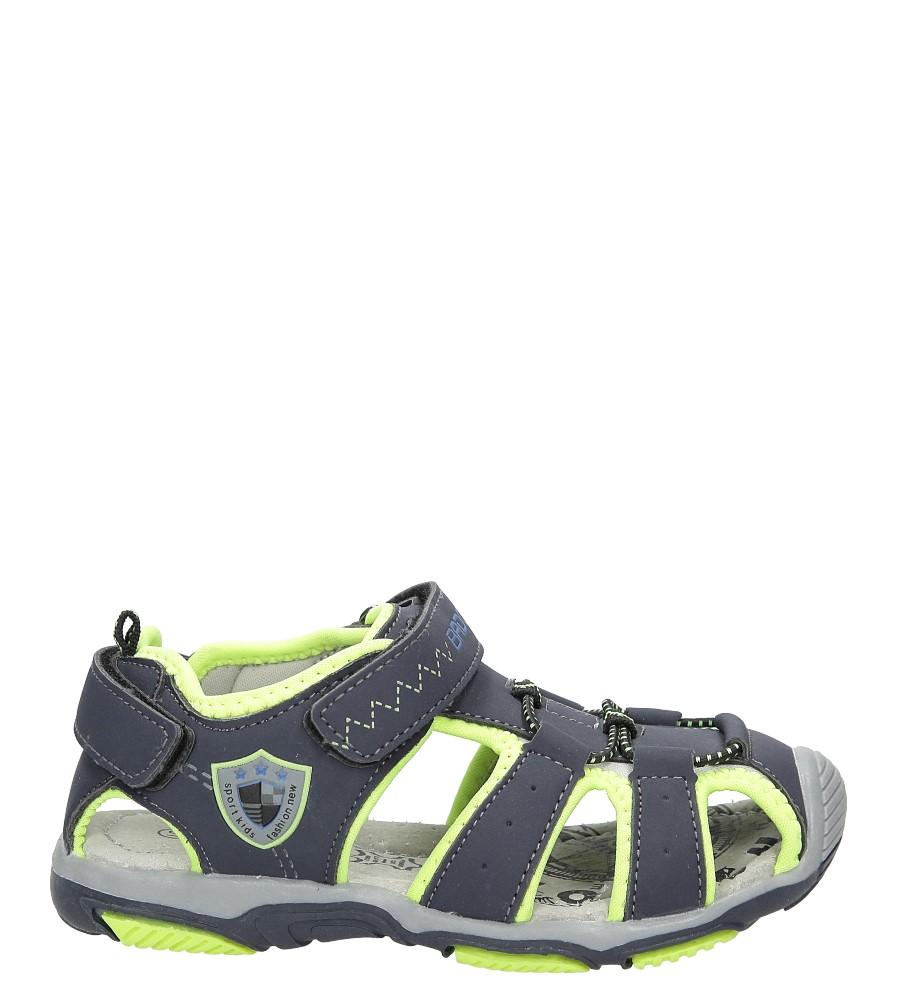 Sandały na rzepy Casu 5SD9072