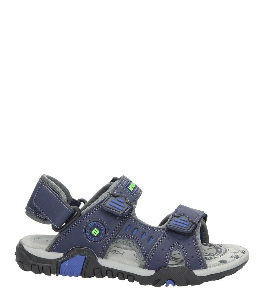 Sandały na rzepy Casu 5SD9070