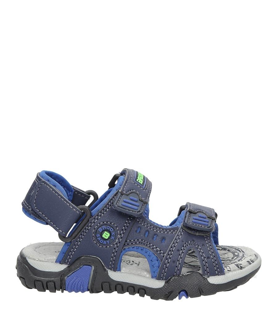 Sandały na rzepy Casu 3SD9070
