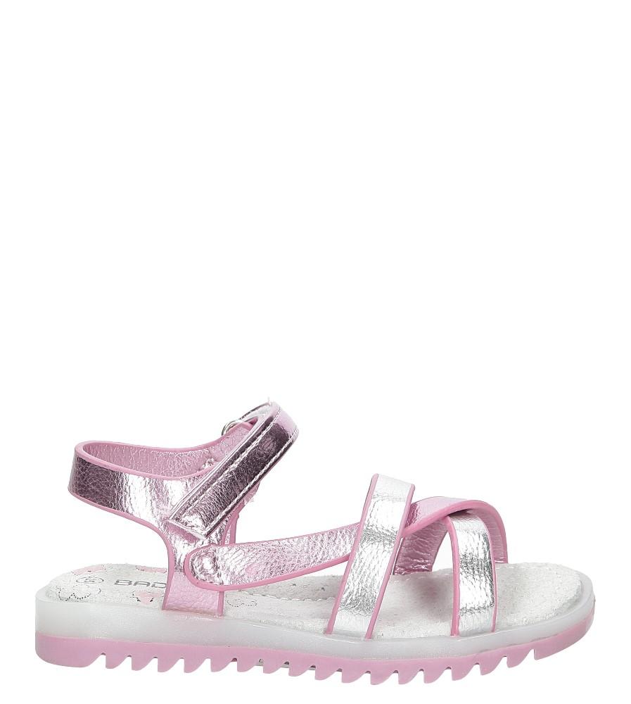 Sandały na rzepy Casu 3SD506
