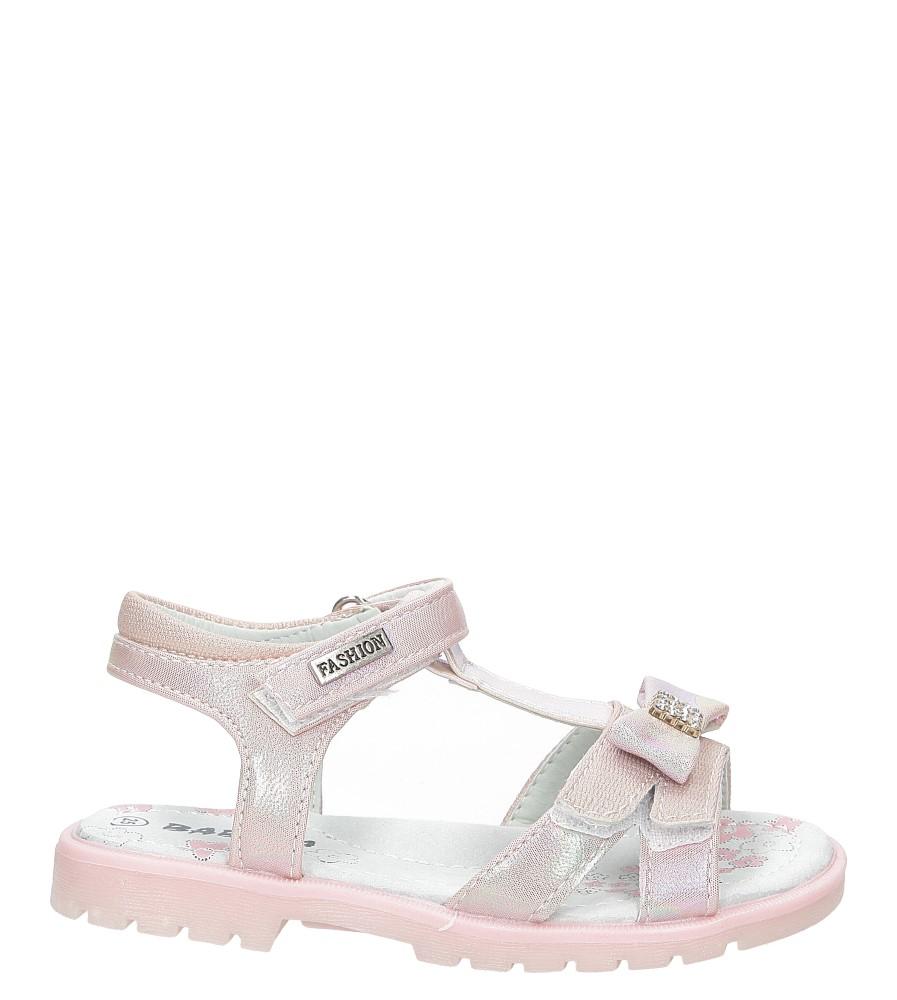 Sandały z kokardą Casu BS8002D