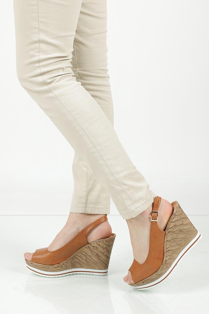 Sandały na koturnie Jezzi SA70-4