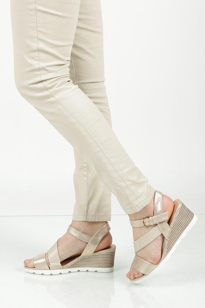 Sandały na koturnie Jezzi SA78-7