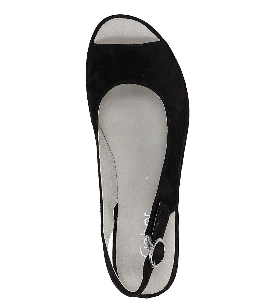 Sandały na koturnie Gabor 65.744 wysokosc_platformy 3 cm