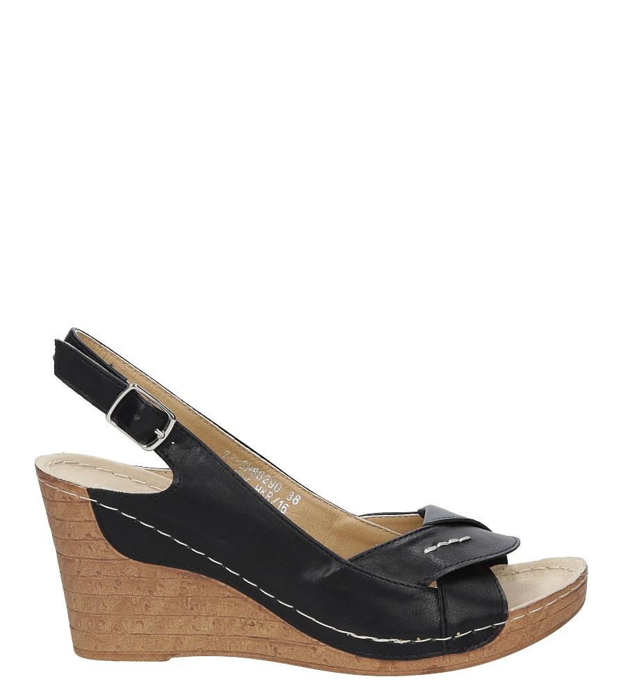 Sandały na koturnie Casu 7S-GH86290