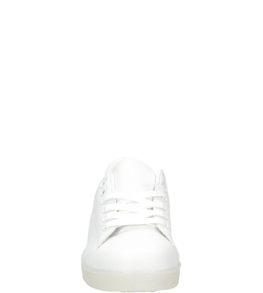 Sportowe świecące led Casu H3-1 kolor biały
