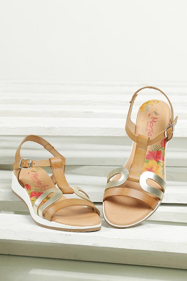 Sandały skórzane Marila 757/ES-61