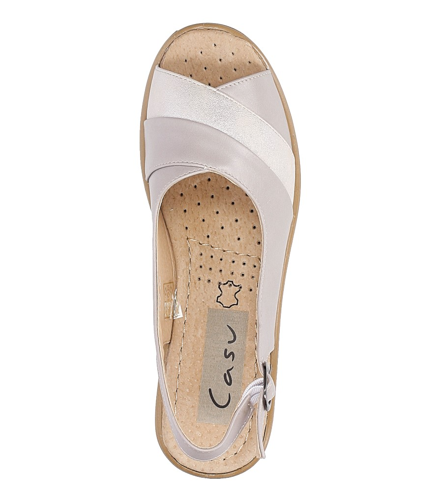Sandały Casu B202 wysokosc_obcasa 4.5 cm