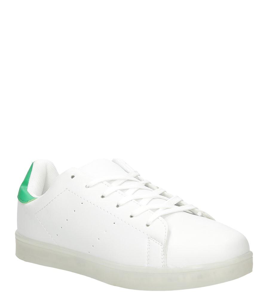 Damskie Sportowe świecące led Casu PT9880 biały;;