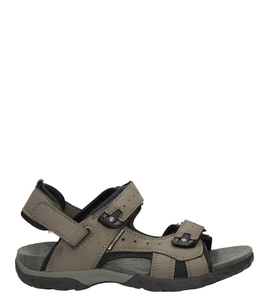 Męskie Sandały Casu 7251 szary;;