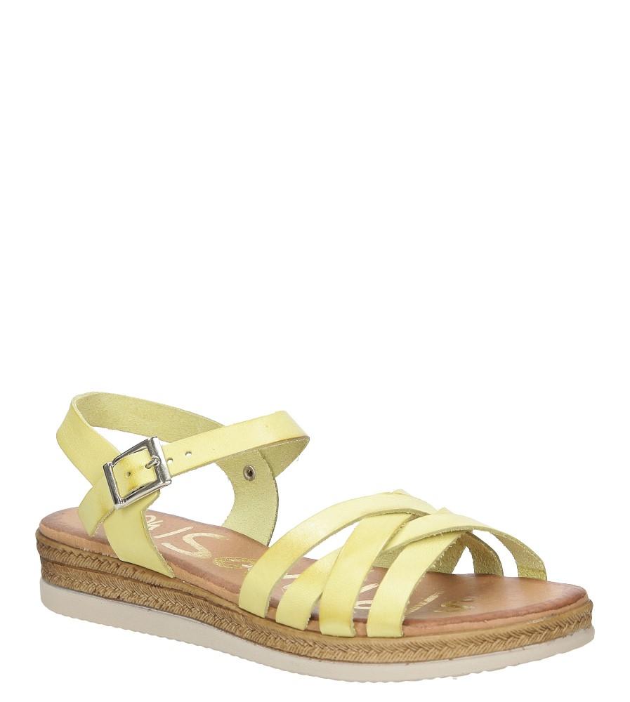 Sandały skórzane na platformie Oh My Sandals 3443
