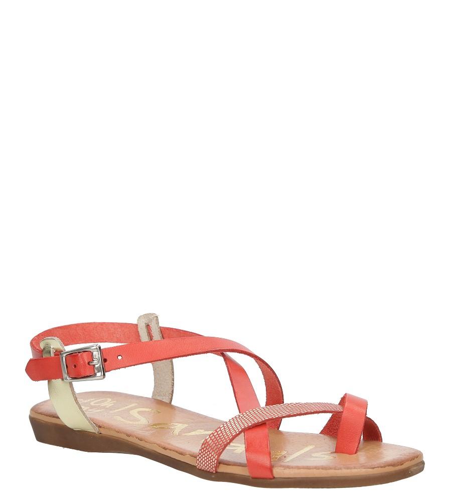 Sandały skórzane Oh My Sandals 3441