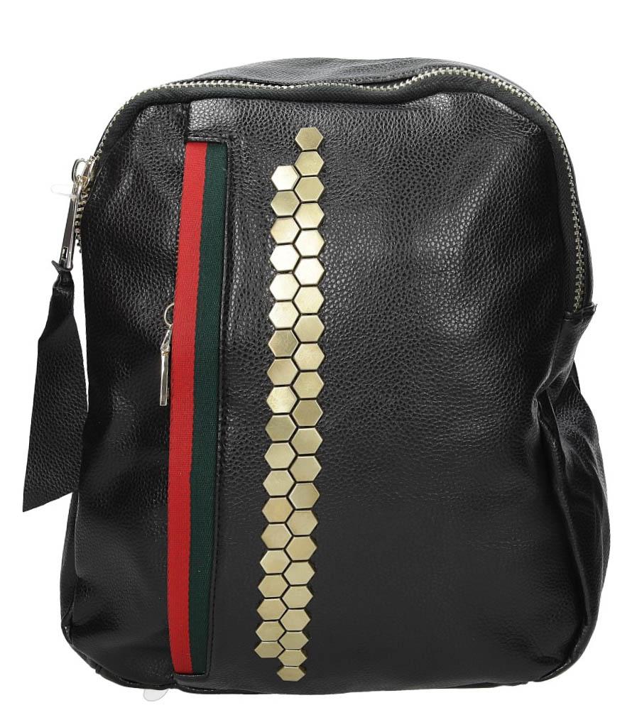 Plecak z metalową ozdobą Casu DF10767-38