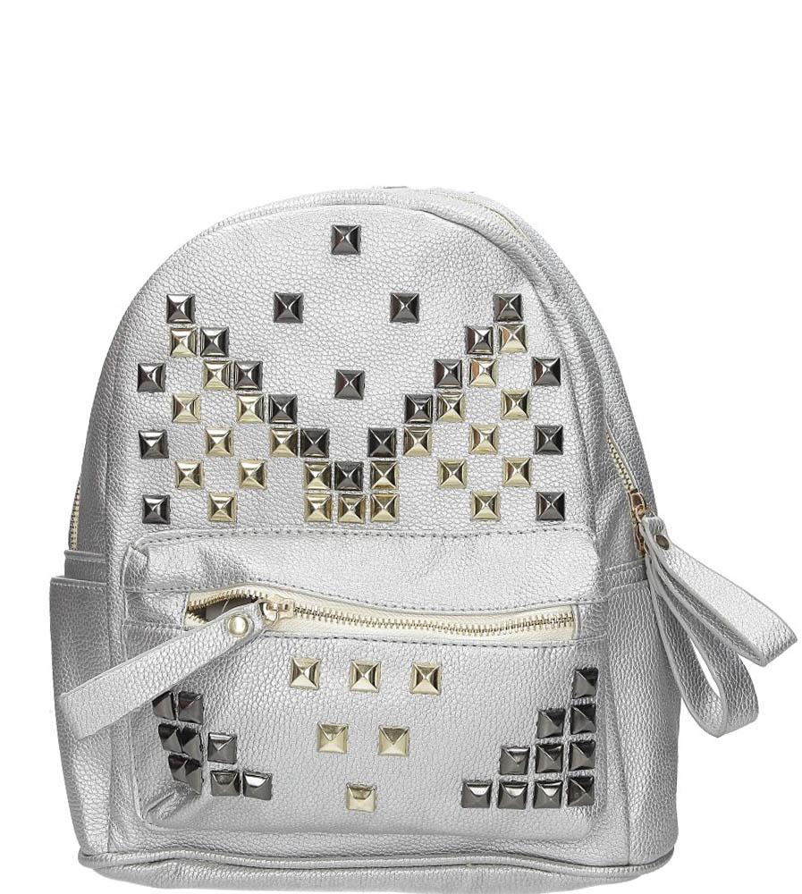 Plecak z ćwiekami Casu DF10767-285-1