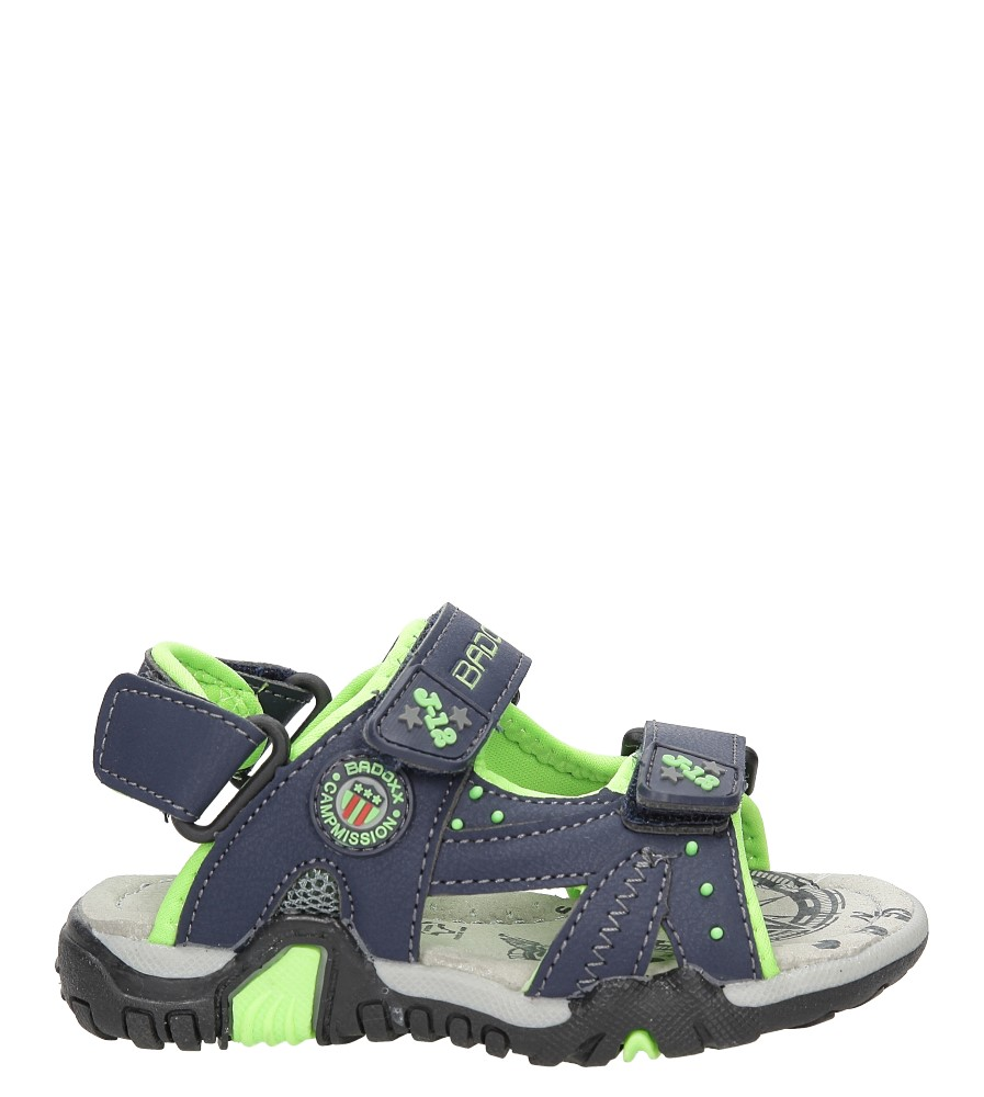 Sandały na rzepy Casu 5SD9069
