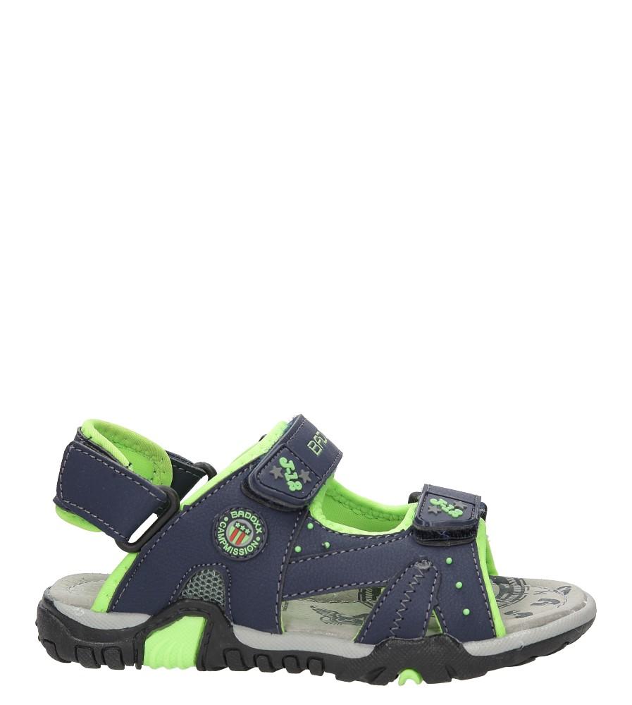 Sandały na rzepy Casu 3SD9069