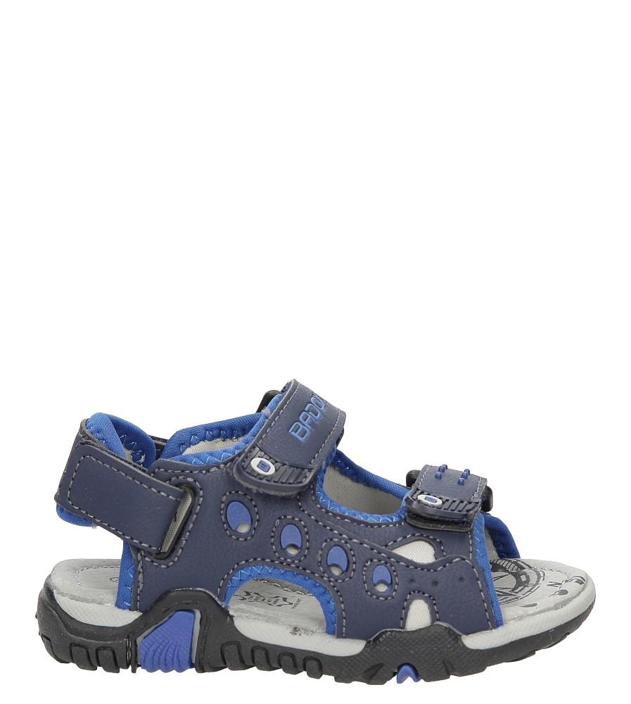 Sandały na rzepy Casu 3SD8330