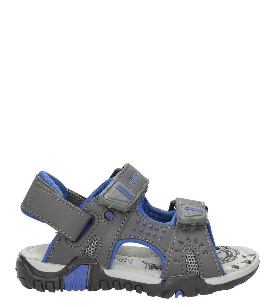 Sandały na rzepy Casu 3SD2329