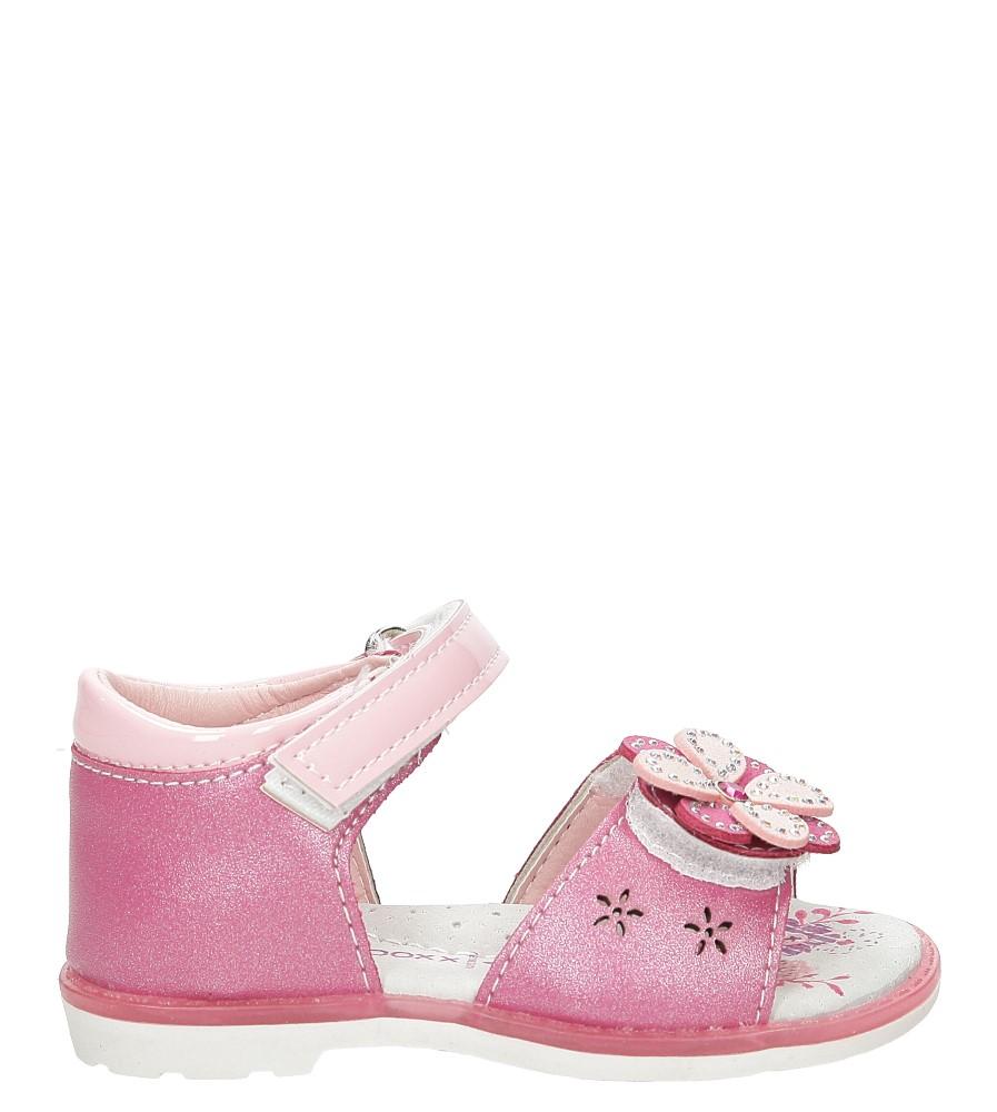 Sandały z kwiatkiem Casu 1SD461
