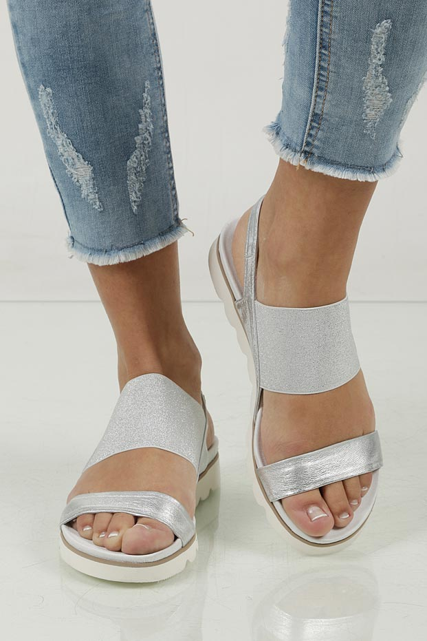 Sandały skórzane Nessi 17165