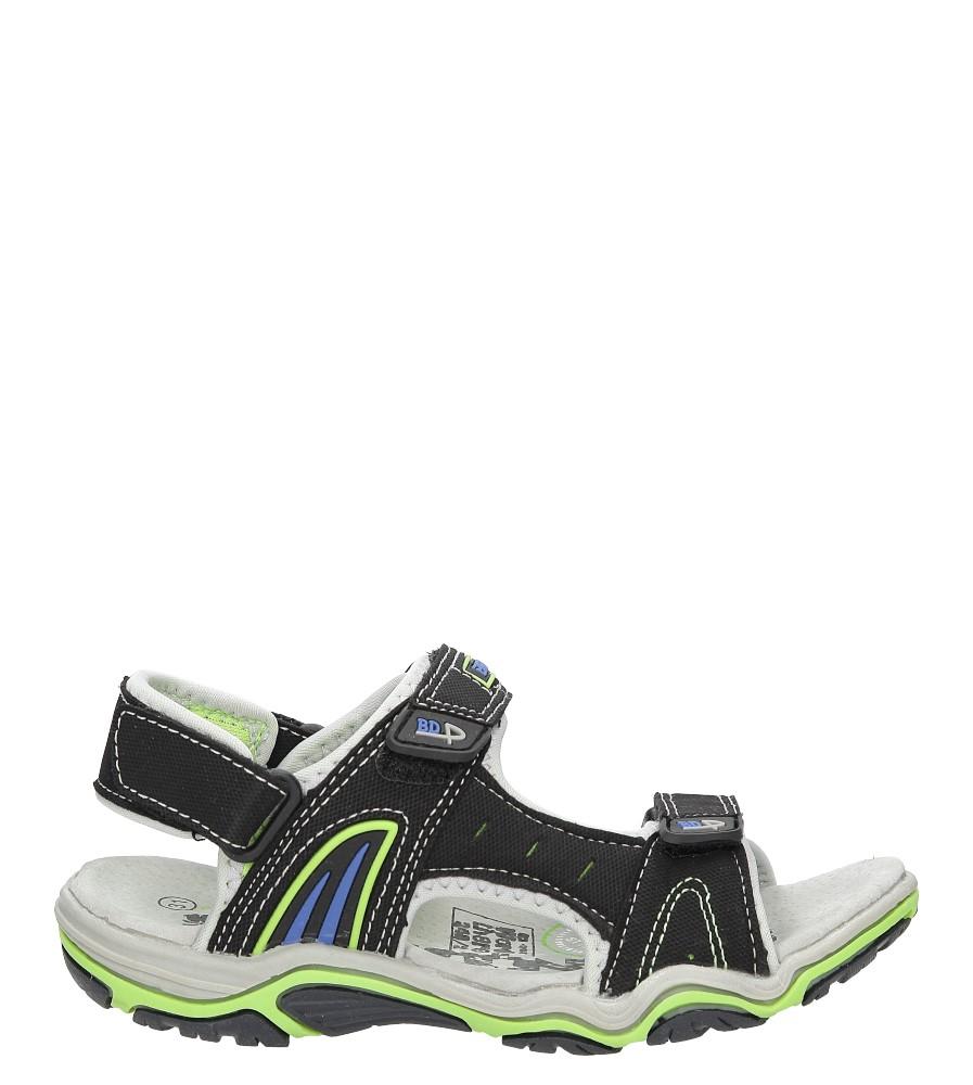 Sandały na rzepy Casu 5SD9126