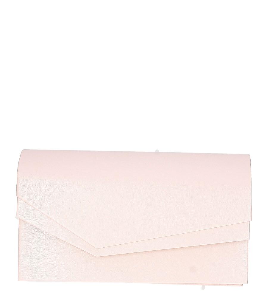 Różowa torebka wizytowa M01B