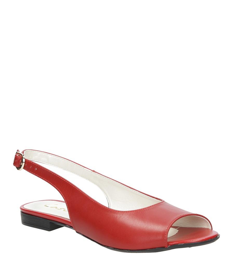 Sandały skórzane Casu 1869/1