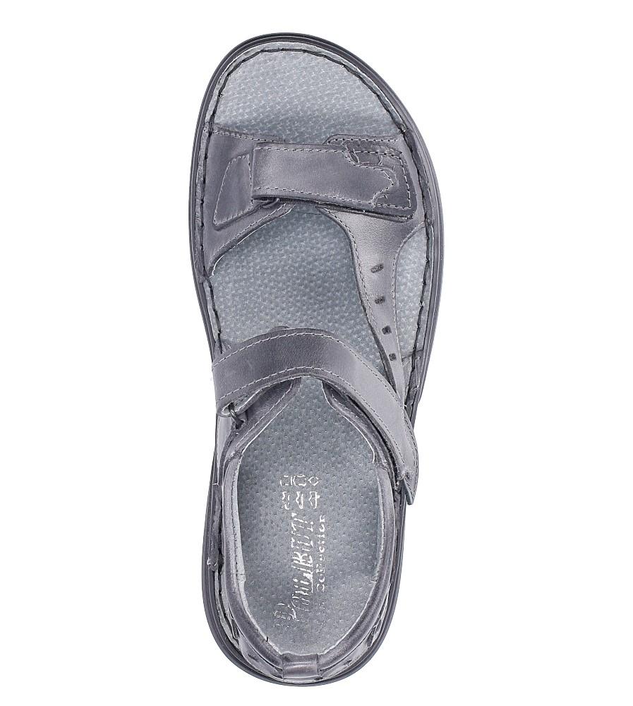 Sandały skórzane na rzep Casu 277 wys_calkowita_buta 17 cm